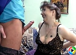 Granny has a wet pussy